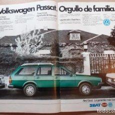 Coleccionismo de Revistas y Periódicos: ANUNCIO SEAT VOLKSWAGEN 83 PASSAT. Lote 218601100