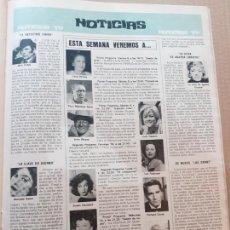 Coleccionismo de Revistas y Periódicos: ASUMPTA SERNA PACO MARTINEZ SORIA JOHN WAYNE SUSAN HAYWARD LEA PADOVANI IMPERIO ARGENTINA. Lote 218601367
