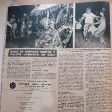 Coleccionismo de Revistas y Periódicos: AMPARO MUÑOZ MISS ESPAÑA UNIVERSO. Lote 218601407