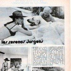 Coleccionismo de Revistas y Periódicos: SCANS CURD JURGENS KATJA MERLIN. Lote 218641008