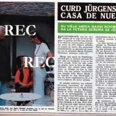 Coleccionismo de Revistas y Periódicos: SCANS CURD JURGENS. Lote 218642296