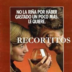 Coleccionismo de Revistas y Periódicos: SCANS ANUNCIO BRANDY MAGNO. Lote 218644880