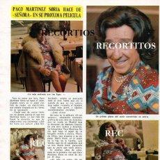 Coleccionismo de Revistas y Periódicos: SCANS PACO MARTINEZ SORIA. Lote 218644950