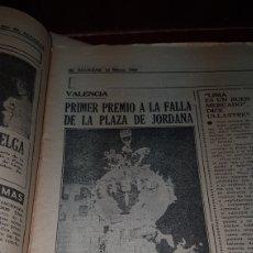 Coleccionismo de Revistas y Periódicos: PRIMER PREMIO PARA LA FALLA DE LA PLAZA DE JORDANA 1965. Lote 218645118