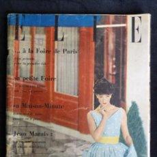 Coleccionismo de Revistas y Periódicos: REVISTA ELLE Nº 595. MAYO 1957. AUDREY HEPBURN. Lote 218658075