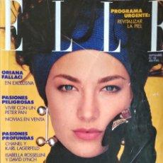 Colecionismo de Revistas e Jornais: REVISTA ELLE 1990. Lote 218698970