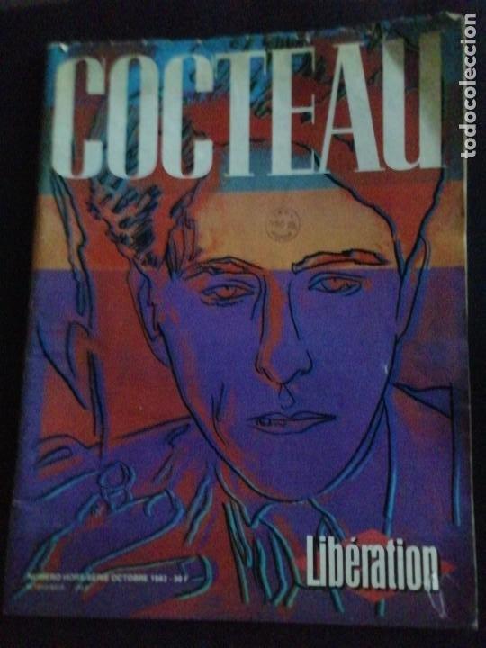 COCTEAU. LIBERATION. 1983. PORTADA ANDY WARHOL (Coleccionismo - Revistas y Periódicos Modernos (a partir de 1.940) - Otros)