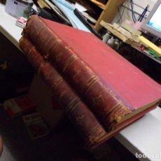 Coleccionismo de Revistas y Periódicos: TOMO PRIMERO Y SEGUNDO EL MUNDO ILUSTRADO DE 1879 COMPLETOS, MUCHAS LAMINAS Y GRABADOS. Lote 218770890