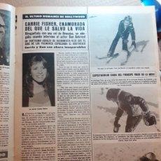Coleccionismo de Revistas y Periódicos: CARRIE FISHER STAR WARS PRINCESA LEYLA. Lote 218799497