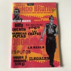 Collezionismo di Riviste e Giornali: MONDO BRUTTO 31 - ESPECIAL PUNK - INVIERNO 2004. Lote 218805948