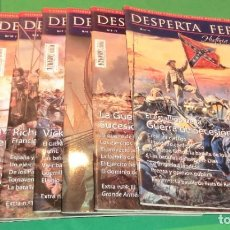 Collezionismo di Riviste e Giornali: PACK 10 REVISTAS DESPERTA FERRO (HISTORIA MODERNA)...COMO NUEVAS DE COLECCIONISTA. Lote 218875358