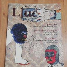 Coleccionismo de Revistas y Periódicos: REVISTA LLUC Nº 845 (MAIG - JUNY 2005) DOSSIER: ELS MITJANS DE COMUNICACIÓ, .... Lote 218877186
