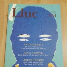 Coleccionismo de Revistas y Periódicos: REVISTA LLUC Nº 844 (MARÇ - ABRIL 2005) EMILI DARDER I L'AJUNTAMENT DE PALMA. Lote 218877392