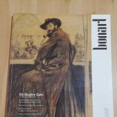 Coleccionismo de Revistas y Periódicos: REVISTA BONART Nº 189 (FEBRER, MARÇ, ABRIL DE 2020) ELS QUATRE GATS. Lote 218878845