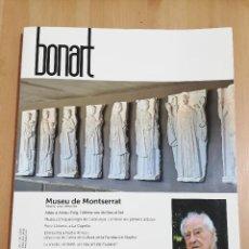 Coleccionismo de Revistas y Periódicos: REVISTA BONART Nº 190 (MAIG, JUNY I JULIOL DE 2020) MUSEU DE MONTSERRAT. ABANS, ARA I DESPRÉS. Lote 218879213