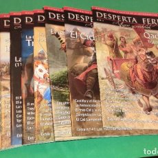 Collezionismo di Riviste e Giornali: PACK 9 REVISTAS DESPERTA FERRO (ANTIGUA Y MEDIEVAL)...COMO NUEVAS DE COLECCIONISTA. Lote 218879432