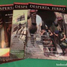 Collezionismo di Riviste e Giornali: PACK 3 REVISTAS DESPERTA FERRO (LAS PRIMERAS QUE SALIERON)...COMO NUEVAS DE COLECCIONISTA. Lote 218888316