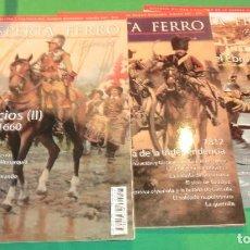 Collezionismo di Riviste e Giornali: PACK 3 REVISTAS DESPERTA FERRO (NÚMEROS ESPECIALES)...COMO NUEVAS DE COLECCIONISTA. Lote 218888835