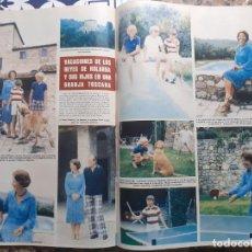 Coleccionismo de Revistas y Periódicos: BEATRIZ DE HOLANDA LA FAMILIA REAL DE LOS PAISES BAJOS. Lote 218913287