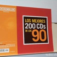 Collezionismo di Riviste e Giornali: ROCK DE LUX EDICION ESPECIAL LOS MEJORES 200 CDS DE LOS 90 - NO LLEVA EL CD. Lote 218930482