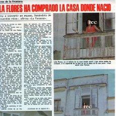 Coleccionismo de Revistas y Periódicos: SCANS JEREZ DE LA FRONTERA LOLA FLORES EN LA CASA DONDE NACIO CALLE SOL. Lote 218941766