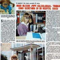 Coleccionismo de Revistas y Periódicos: SCANS INGER NILSSON PIPI PIPPI CALZASLARGAS PIPPI LANGSTRUMP. Lote 218945008