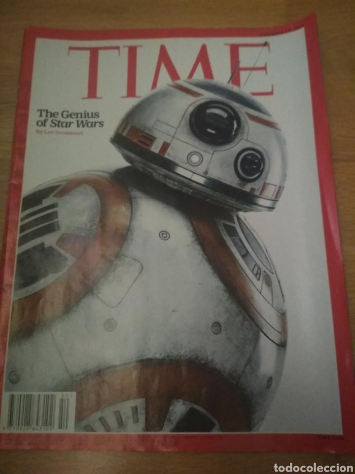 REVISTA TIME EN INGLÉS STAR WARS LA GUERRA DE LAS GALAXIAS 2015 (Coleccionismo - Revistas y Periódicos Modernos (a partir de 1.940) - Otros)