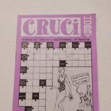Coleccionismo de Revistas y Periódicos: CRUCI HOBBY. Nº 82. CRUCIS Y PASATIEMPOS. TDKP16. Lote 219176600