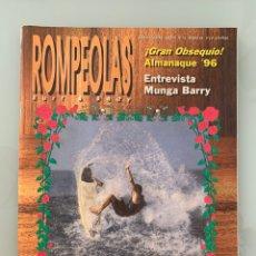 Collezionismo di Riviste e Giornali: REVISTA ROMPEOLAS SURF NÚMERO 15 ENERO 96. Lote 219220692