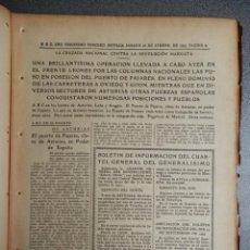 Coleccionismo de Revistas y Periódicos: PERIÓDICO GUERRA CIVIL ABC 18/09/1937 TOMA PUERTO PAJARES ASTURIAS, TOMA DE VILLAMANIN LEÓN. Lote 219263012