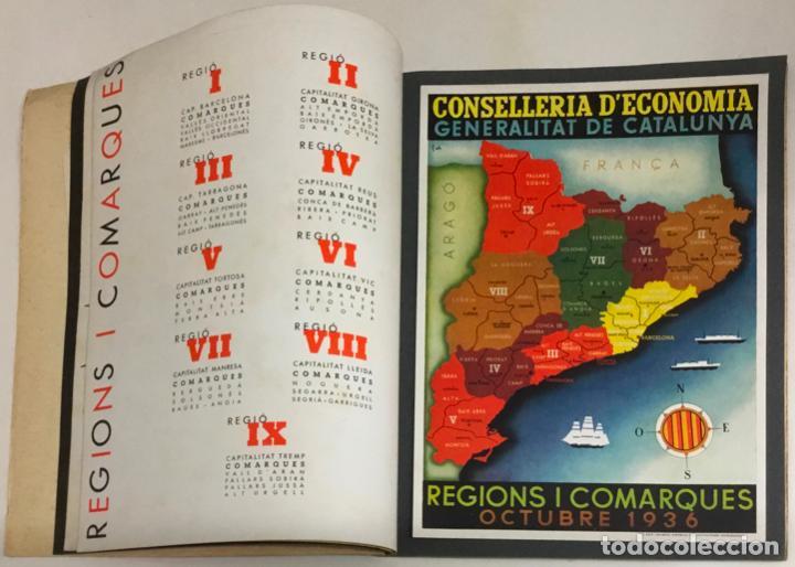 Coleccionismo de Revistas y Periódicos: GUERRA CIVIL. CONSELLERIA D'ECONOMIA. 1 OCTUBRE 1936. Nº 1. - Foto 5 - 219275405