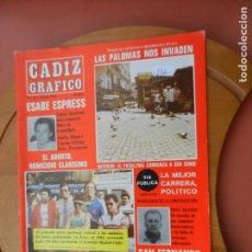 Coleccionismo de Revistas y Periódicos: CÁDIZ GRÁFICO Nº 149 - JULIO 1983.. Lote 219277362