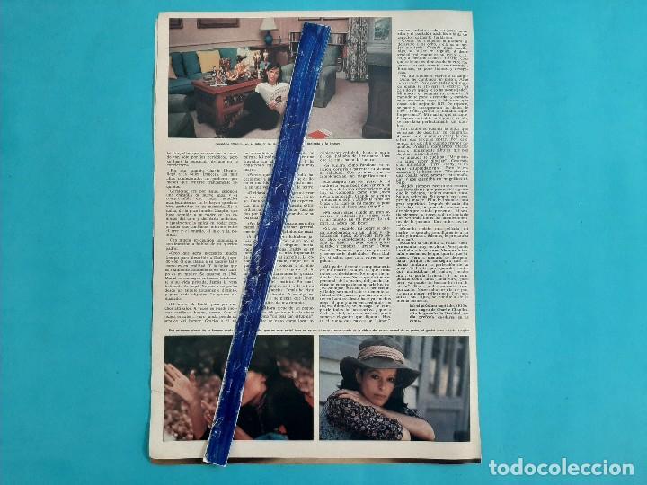 Coleccionismo de Revistas y Periódicos: GERALDINE CHAPLIN - 3 PAG -.AÑO 1976 -RECORTE REVISTA - Foto 2 - 219278546