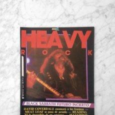 Coleccionismo de Revistas y Periódicos: HEAVY ROCK - Nº 6 - 1983 - LONE STAR, MAZARROCK, WHITESNAKE, MEAT LOAF, READING 83, BLACK SABBATH. Lote 219284570
