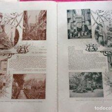 Coleccionismo de Revistas y Periódicos: ÁLBUM SALÓN. CON LITOGRAFÍAS DE LA ÉPOCA. AÑO 190?. Lote 219302575
