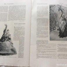 Coleccionismo de Revistas y Periódicos: ÁLBUM SALÓN. CON LITOGRAFÍAS DE LA ÉPOCA. AÑO 190?. Lote 219305583