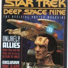 Coleccionismo de Revistas y Periódicos: REVISTA/MAGAZINE: STAR TREK, DEEP SPACE NINE: THE OFFICIAL POSTER MAGAZINE: NUMERO 12. Lote 219304970