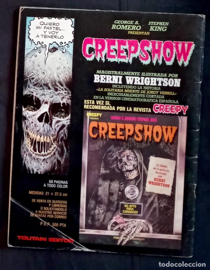 Coleccionismo de Revistas y Periódicos: CREEPY 64 - 1984 ED TOUTAIN - GRAPA - Foto 2 - 219315217