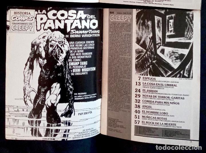 Coleccionismo de Revistas y Periódicos: CREEPY 64 - 1984 ED TOUTAIN - GRAPA - Foto 3 - 219315217