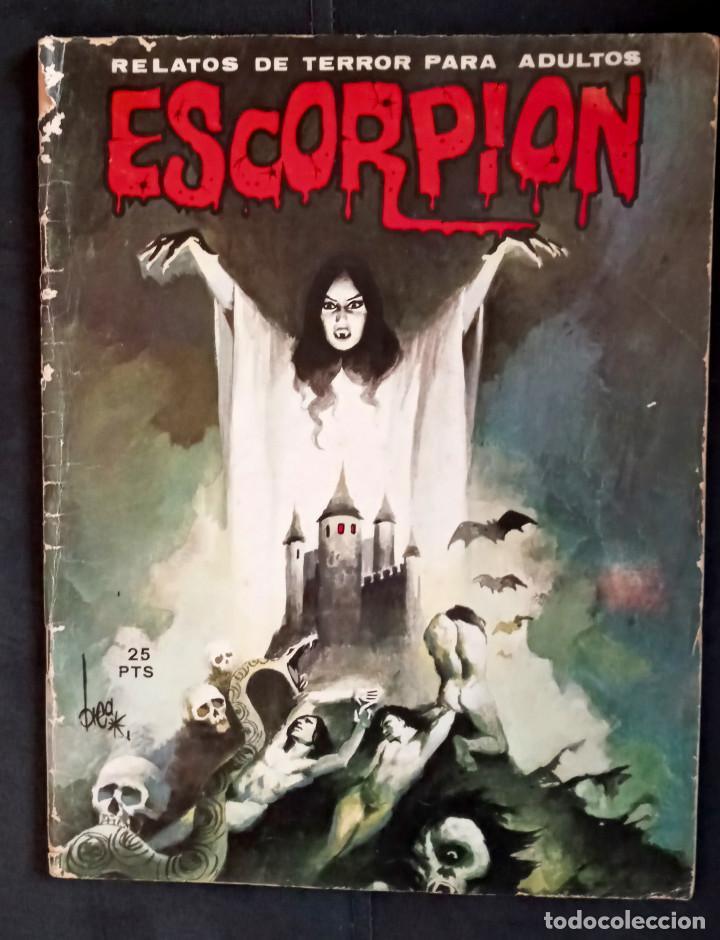 ESCORPIÓN 6 - ED VILMAR 1973 (Coleccionismo - Revistas y Periódicos Modernos (a partir de 1.940) - Otros)