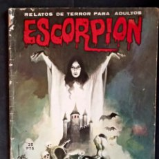 Coleccionismo de Revistas y Periódicos: ESCORPIÓN 6 - ED VILMAR 1973. Lote 219316016