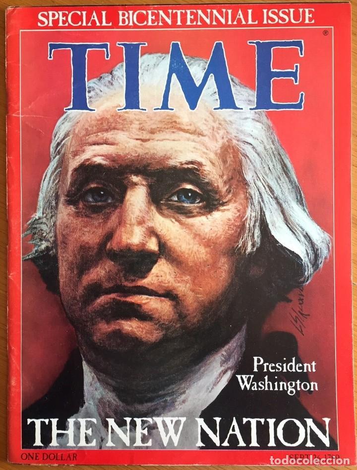 ESTADOS UNIDOS BICENTENARIO - TIME BICENTENNIAL ISSUE (Coleccionismo - Revistas y Periódicos Modernos (a partir de 1.940) - Otros)