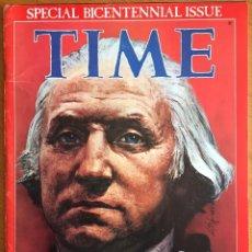Coleccionismo de Revistas y Periódicos: ESTADOS UNIDOS BICENTENARIO - TIME BICENTENNIAL ISSUE. Lote 219380497