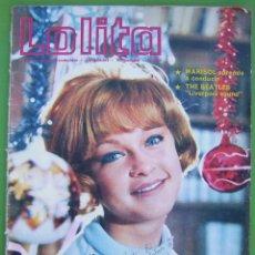 Coleccionismo de Revistas y Periódicos: LOLITA (FOTONOVELA) CON REPORTAJES DE MARISOL Y THE BEATLES,. Lote 219453887