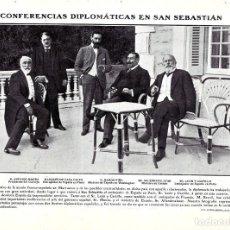 Collectionnisme de Revues et Journaux: 1907 HOJA REVISTA ANTONIO MAURA, RAMÓN PIÑA, ALLENDESALAZAR, MARQUÉS DE CASA CALVO, LEÓN Y CASTILLO. Lote 219530833