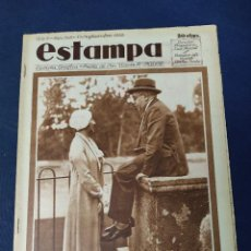 Collezionismo di Riviste e Giornali: REPÚBLICA. REVISTA GRÁFICA ESTAMPA, Nº 245, 17 SEPTIEMBRE 1932 LAS VACACIONES DE AZAÑA. Lote 219555567