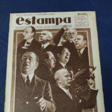 Collezionismo di Riviste e Giornali: REVISTA ESTAMPA Nº 247 - 1 OCTUBRE DE 1932, EL PARLAMENTO A HECHO 315 LEYES - BRUJAS DE ZUGARRAMUNDI. Lote 219555947