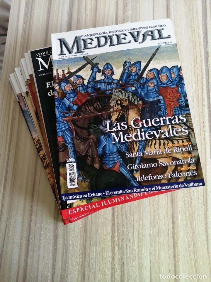 LOTE 15 REVISTAS MUNDO MEDIEVAL (Coleccionismo - Revistas y Periódicos Modernos (a partir de 1.940) - Otros)