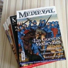 Coleccionismo de Revistas y Periódicos: LOTE 15 REVISTAS MUNDO MEDIEVAL. Lote 219618366