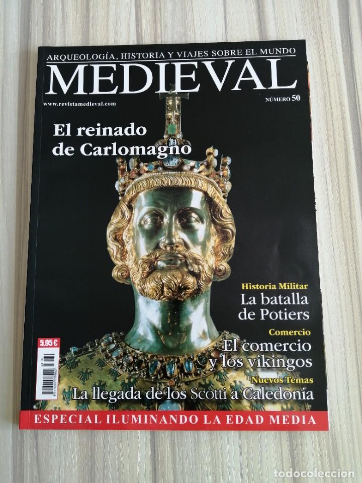 Coleccionismo de Revistas y Periódicos: Lote 15 revistas Mundo Medieval - Foto 3 - 219618366